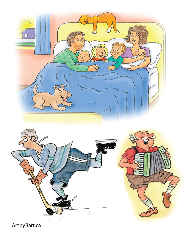 Humorous Illustrations by Barton Pedersen