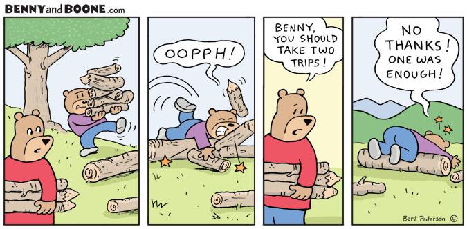 Comic of two Bears