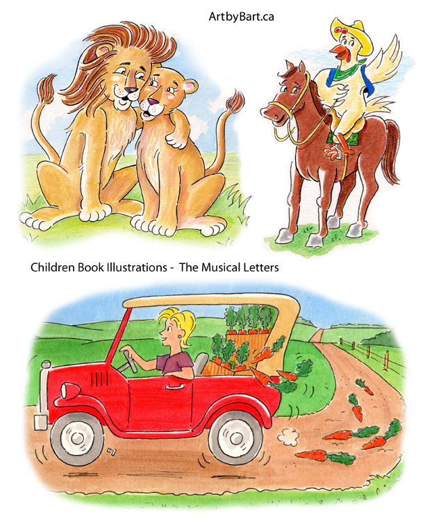 Children Book Illustration Illustration Servicess Art by Bart
